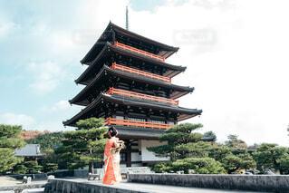 五重塔,着物,イベント,和服,お祝い,晴れ着,振袖,成人式,和装,行事,成人の日