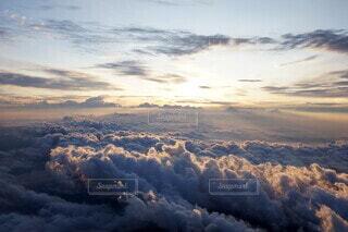 自然,空,富士山,屋外,太陽,朝日,雲,綺麗,山頂,雲海,日の出,富士,ご来光,眺め,頂上