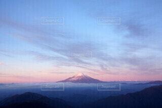 空,富士山,雪,屋外,朝日,赤,雲,山,登山,正月,お正月,日の出,富士,新年,初日の出,1月,一月