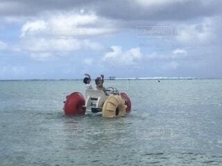 水上ボートの写真・画像素材[4128615]