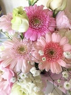 ピンク系花束の写真・画像素材[4167668]