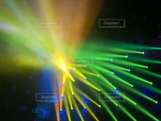 緑,青,ライト,オレンジ,光,ぼかし,ライトアップ,明るい,スポットライト,黄,プロジェクションマッピング,レーザー,ビーム