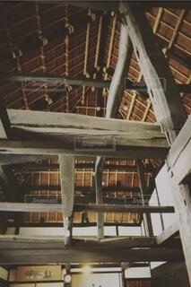 木,階段,窓,レトロ,家,椅子,古い,屋根,天井,はしご,昭和,木材,建築,昔,材木,木造,木造建築,トラス,吹き抜け,家屋,梁,昔の家,鋼,昔の人