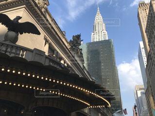 ニューヨークの街の一角の写真・画像素材[4231723]