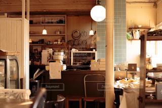 カフェの写真・画像素材[598890]