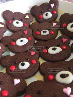 くまさんクッキーの写真・画像素材[2954283]