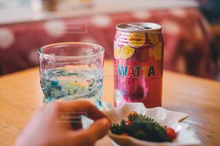 WATTAをグラスでの写真・画像素材[3919536]