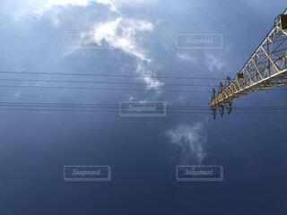 風景,空,屋外,雲,電気,日中