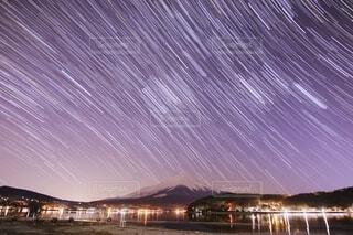 風景,空,夜,富士山,夜空,雪,湖,星空,水面,景色,星,ベスト,天体観測,星景,天文学