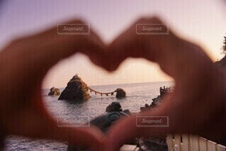 ビーチ,愛,夫婦岩