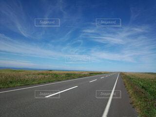 自然,風景,空,雲,道路,道
