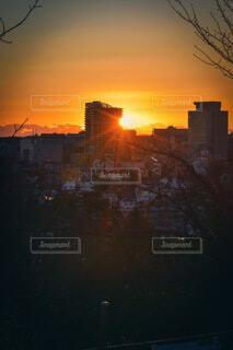 風景,空,建物,街並み,屋外,太陽,朝日,雲,街,高層ビル,日の出,町,一眼レフ,町並み,新年,初日の出,Nikon,sun,sunrise,2021,初日の出2021
