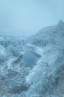 自然,空,冬,雪,雪景色,冷たい,雪化粧,宮城県,風景写真,冬の景色,雪が作り出す芸術
