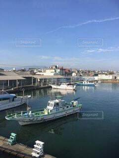 風景,空,屋外,船,港,漁港,平塚