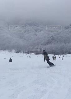 自然,空,冬,雪,屋外,山,運動,ゲレンデ,スキー場,スノーボード,斜面,ウィンタースポーツ