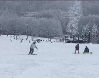 冬,雪,屋外,スキー,運動,スキー場,斜面,ウィンタースポーツ