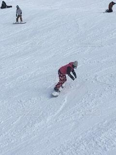 冬,雪,屋外,山,運動,スノーボード,斜面,ウィンタースポーツ