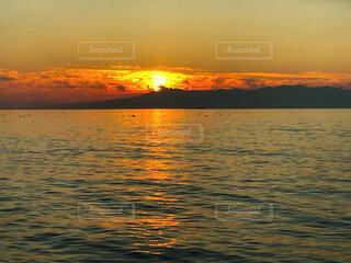 自然,風景,海,空,屋外,湖,太陽,ビーチ,雲,夕焼け,夕暮れ,水面,日の出,sea