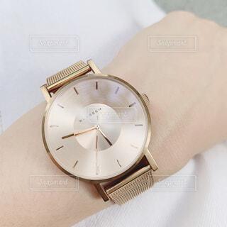 おしゃれ腕時計の写真・画像素材[4319444]
