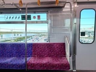 電車,窓,車内,車窓,鉄道,座席,空席,空いてます