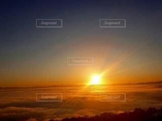自然,風景,空,太陽,雲,山,景色,雲海,日の出,広島,山の上,展望台からの景色,三次,高谷山展望台,高谷山