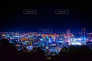 二葉山からの広島駅の写真・画像素材[4049418]