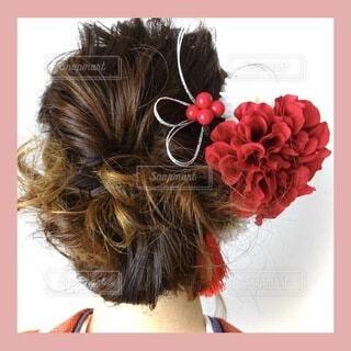 ヘアスタイル,髪,着物,髪飾り,イベント,和服,お祝い,晴れ着,ヘアアレンジ,夢,髪の毛,美容院,和装,行事,決意,成人の日,成人式髪型