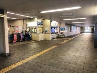 小田急線の改札口の写真・画像素材[4083620]
