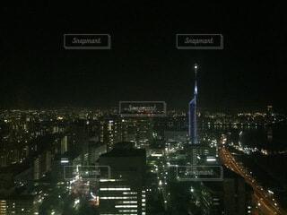 建物,夜,屋外,都市,タワー,都会,高層ビル,照明,ダウンタウン
