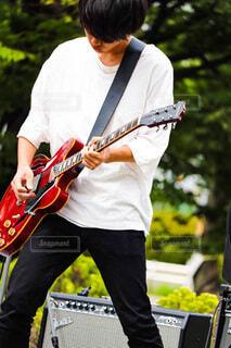 ギタリストの写真・画像素材[4025701]