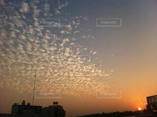 太陽,雲,夕暮れ,日の入り