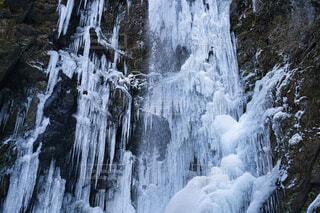 自然,冬,雪,屋外,滝,冷たい,斜面,冷凍,氷の世界