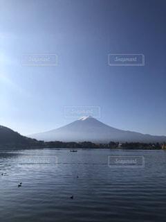 自然,風景,富士山,屋外,湖,水面,山,旅行,山梨,河口湖
