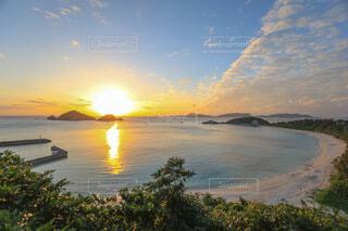 自然,風景,海,空,太陽,ビーチ,夕暮れ,沖縄