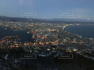 自然,風景,北海道,都会,眺め,高い