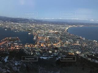 自然,風景,空,北海道,山,都会,眺め,高い