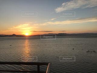 自然,風景,海,空,屋外,太陽,水面,海岸,日の出