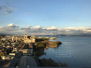 風景,空,建物,屋外,湖,海岸,都会,旅行,眺め,日中