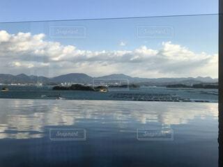 自然,風景,空,雲,島,水面,海岸,旅行