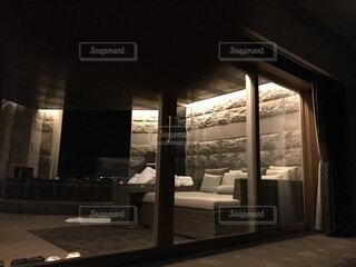 窓,椅子,家具