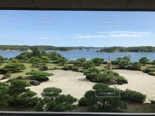 自然,風景,空,雲,水面,海岸,新緑,草木,日中