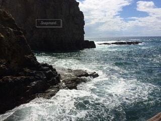 自然,風景,海,屋外,波,海岸,岩,崖,岬,海洋地形