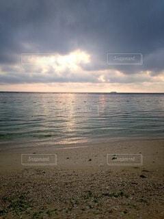 自然,風景,海,空,屋外,湖,砂,ビーチ,雲,砂浜,夕暮れ,水面,海岸,沖縄