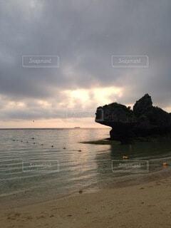 自然,風景,海,空,屋外,湖,ビーチ,雲,水面,海岸,沖縄,日中,シースケープ,海洋地形