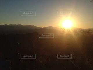 自然,風景,空,太陽,夕暮れ,霧,山,朝,日の出