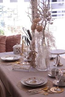 花瓶,皿,食器,雑貨,料理,お正月,器,テーブルコーディネート,手作り,新春,テーブルデコレーション
