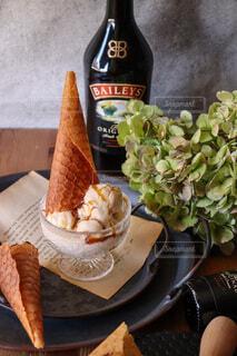 ベイリーズアイスクリームの写真・画像素材[4740694]