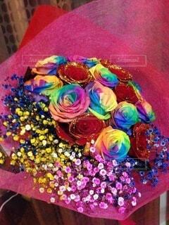 花,花束,フラワー,プレゼント,カラー,ブライダル,7色