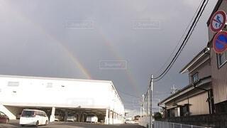 自然,空,虹,二重虹