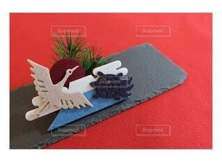 屋内,松,装飾,新年,グッズ,お節,お正月飾り,鶴亀